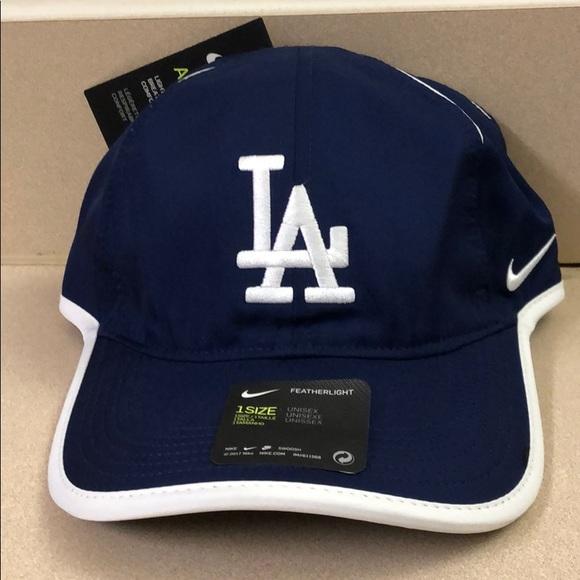 979155b5 Nike Accessories | La Dodgers Drifit Aerobill Velcro Strapback ...